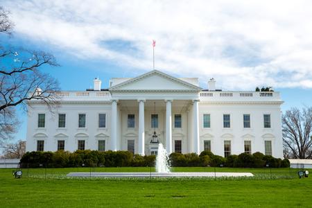 The White House Washington DC, United States Reklamní fotografie - 28051480