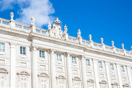 Royal Palace building, Madrid, Spain