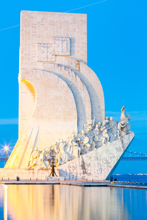 discoveries: monument to the discoveries Lisbon Portugal Editorial