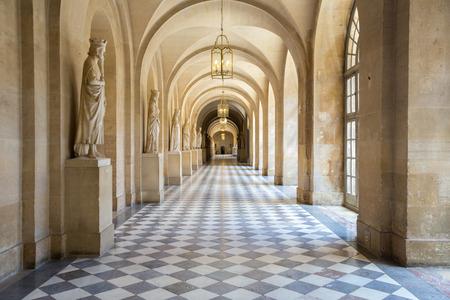 Corridor of Versailles Chateau Palace Paris France