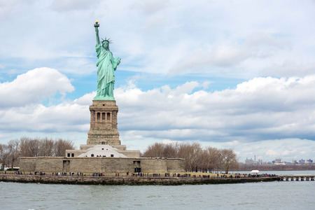 statue of liberty: The Statue of Liberty in New York City