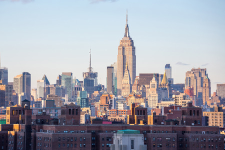 city landscape: New York City Midtown Skyline USA