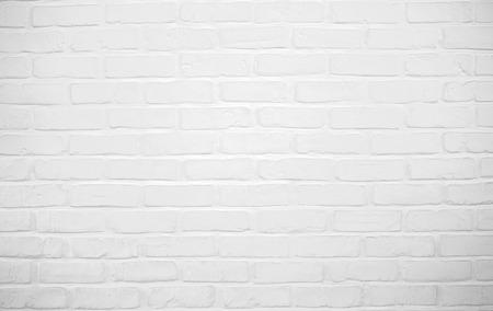 White brickwall using as background photo