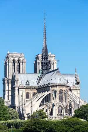 dame: Cathedral Notre Dame Reims Champagne, Paris France Stock Photo