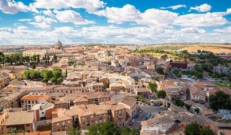 toledo town: Toledo old town Cityscape Spain Stock Photo