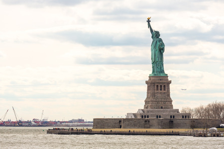 national monuments: The Statue of Liberty in New York City USA