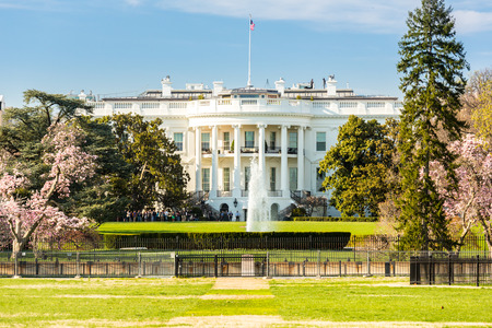 The White House Washington DC United States 写真素材