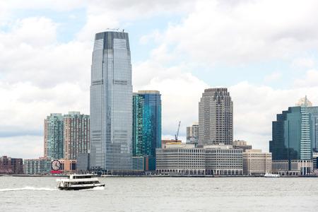 lower manhattan: New York City at Lower Manhattan Stock Photo