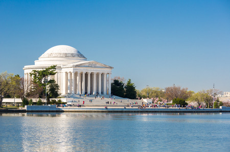 jefferson: Thomas Jefferson Memorial building Washington, DC