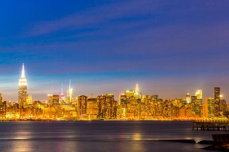 newyork: Newyork mid town at dusk