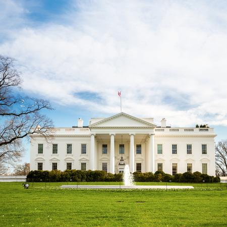 with white: The White House Washington DC, United States