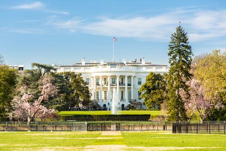 La Casa Bianca di Washington DC, Stati Uniti Archivio Fotografico - 43864051