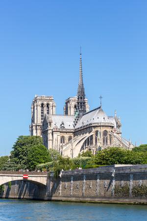 dame: Cathedral Notre Dame Reims Champagne, River Seine, Paris, France
