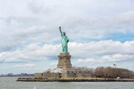 liberty torch: The Statue of Liberty in New York City USA