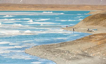 jokulsarlon: Vatnajokull Glacier Jokulsarlon lagoon Iceland