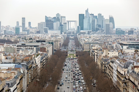 skylines: Aerial View of Paris cityscape skylines France