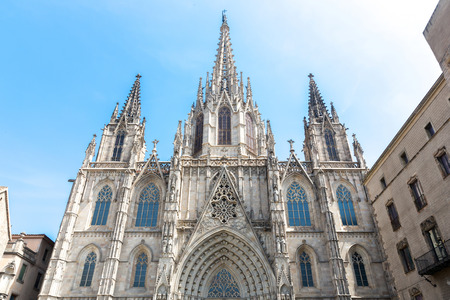 barcelona cathedral: Barcelona Cathedral Architecture in Spain