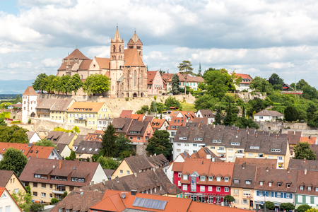 black forest: Breisach Church cityscape - Baden-Wurttemberg, Germany