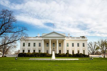 Das Weiße Haus in Washington DC, USA