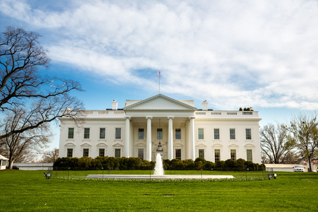The White House Washington DC, United States 版權商用圖片 - 48264716