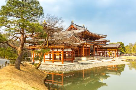 templo: Byodo-en el templo en Uji ciudad de Kyoto, Jap�n Foto de archivo
