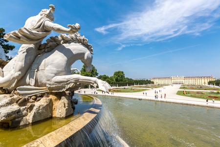 schonbrunn palace: Schonbrunn Palace Garden in Vienna Austria Editorial