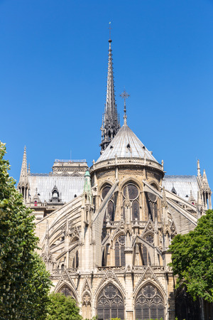 religious building: Cathedral Notre Dame Reims Champagne, Paris France Stock Photo