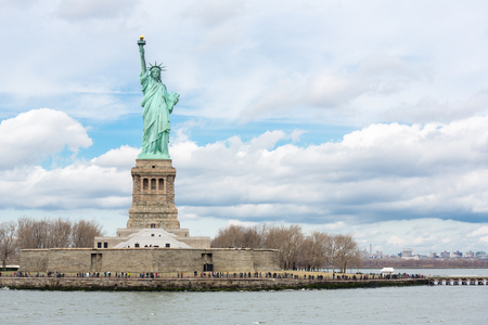 The Statue of Liberty in New York City USA