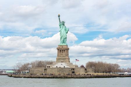 La Statue de la Liberté à New York City Banque d'images