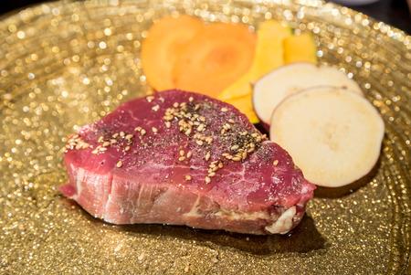 yakiniku: Freshness Japanese wagyu fillet meat BBQ yakiniku