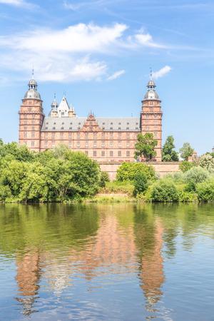 german: Frankfurt Johannisburg palace, Aschaffenburg Germany