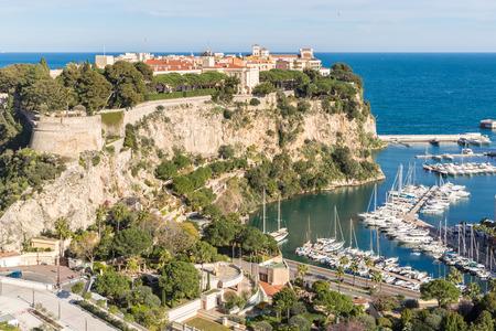 carlo: Rock of Monaca Monte carlo, French Riviera cote dazur