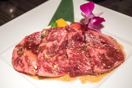 frescura: Frescura japonesa Wagyu solomillo carne a la barbacoa yakiniku