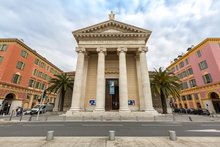 cite: Nice Notre-Dame du Port Church in France