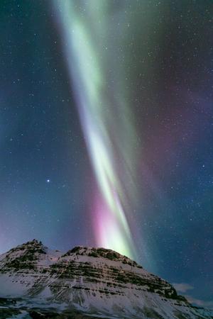 northern nature: The Northern Lights Aurora borealis Iceland