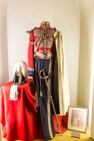 spanish ethnicity: bullfighter shirt costume in bullfight arena, plaza de toros, Sevilla, Spain