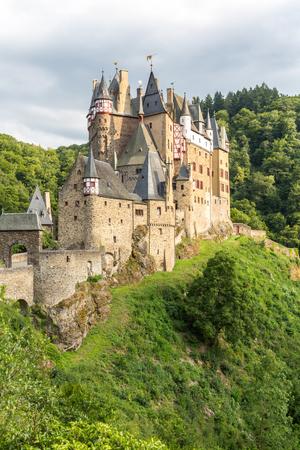 burg: View of the Burg Eltz Castle Germany