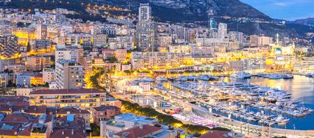 monte: Monaco Monte Carlo harbour french riviera panorama