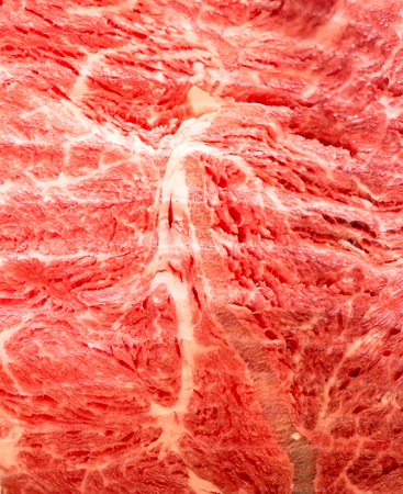 white backing: Wagyu Beef Texture for food background Stock Photo