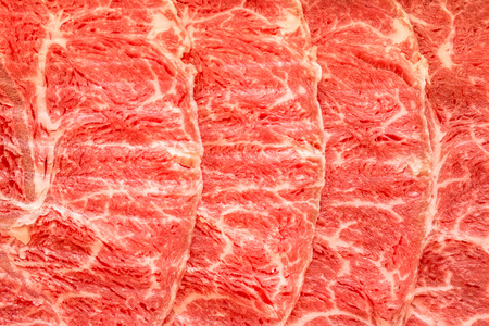 white backing: Beef Texture Stock Photo