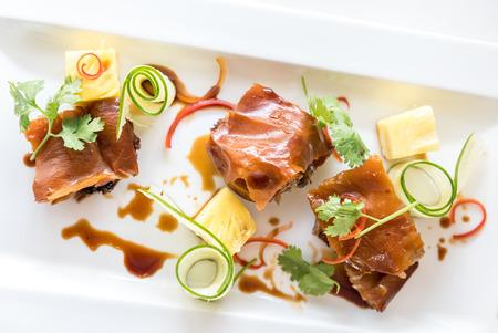 spanferkel: gegrilltes Spanferkel, Schweine Hong Kong Stil Roast Lizenzfreie Bilder