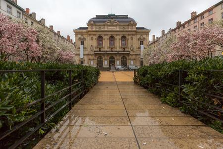 lyon: Lyon Theatre des Celestins France Editorial