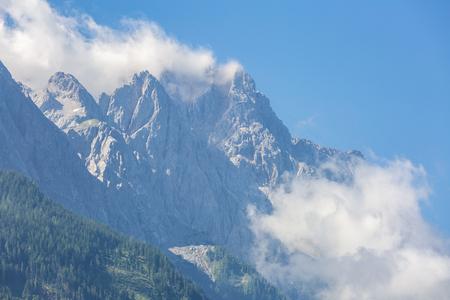 zugspitze mountain: Zugspitze Alpine Alps mountain Landscape top of Germany