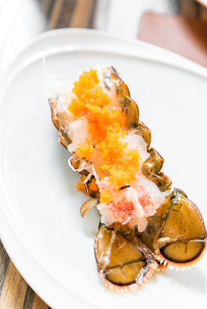 lobster sashimi groumet japanese cuisine Stock Photo