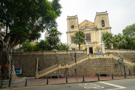 lawrence: St. Lawrence Church Macau, Macao, China