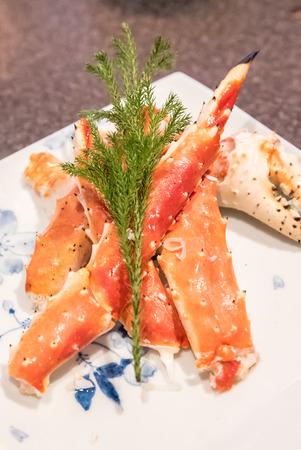 king of thailand: red king crab taraba seafood