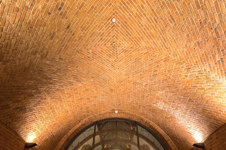 Brick Tunnel in Malmo station