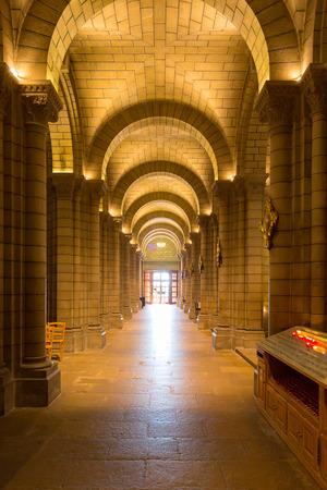 Monaco Saint Nicholas Cathedral Cote dAzur Riviera interior