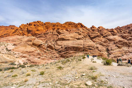 Red Rock Canyon National Conservation Area in Las Vegas Nevada USA