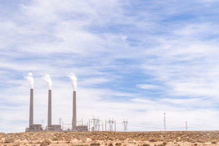 Coal Power Plant in Page Arizona USA